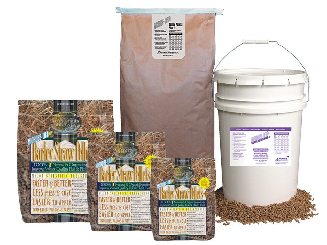 Microbe-Lift Barley Straw Pellets Plus