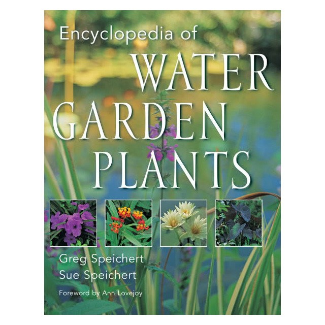 Encyclopedia of water garden plants koi books pond books for Garden pool book