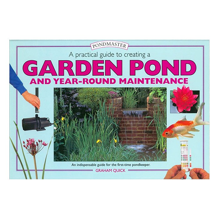 Pondmaster creating a garden pond koi books and pond books for Garden pool book